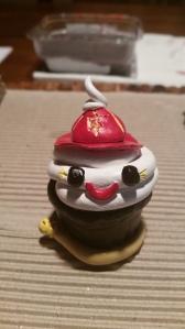 Cupcake Fireman (painted)