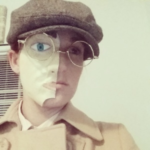 Richard Harrow Mask On